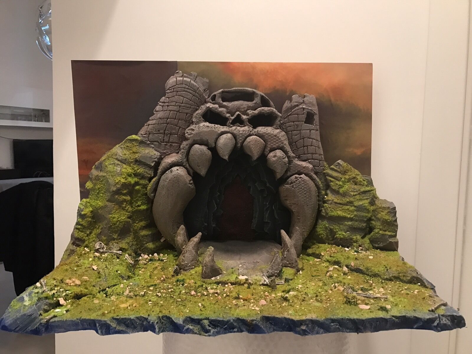 Masters Of The Universe, grauskull Castle He Man