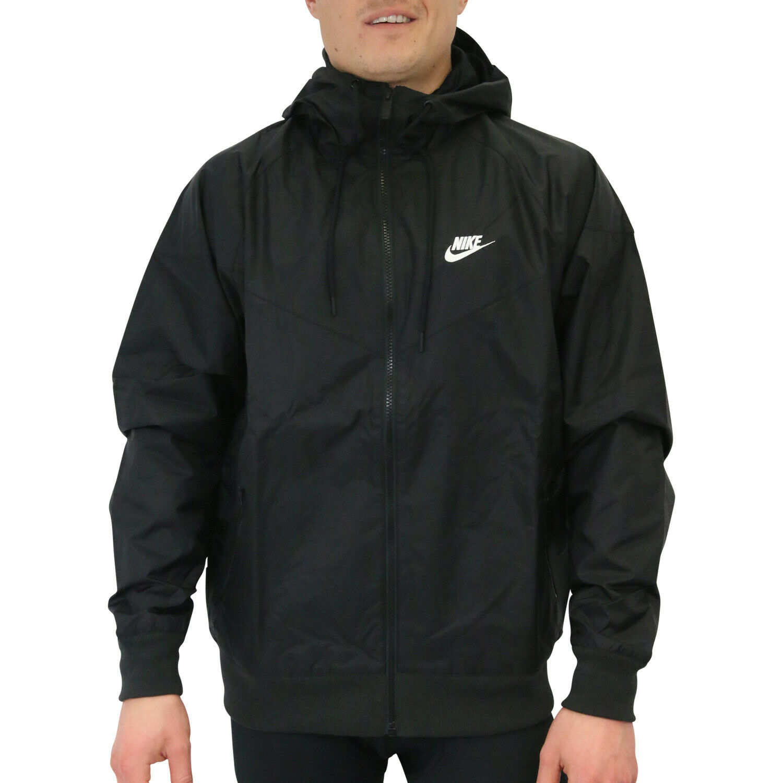 Nike Nike Nike Sportswear Windrunner Jacke Laufjacke Sportjacke Kapuze Herren Schwarz 9e35aa