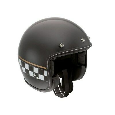 AGV RP60 Cafe Racer Black SMALL Ace Vintage/Scooter Open Face Helmet