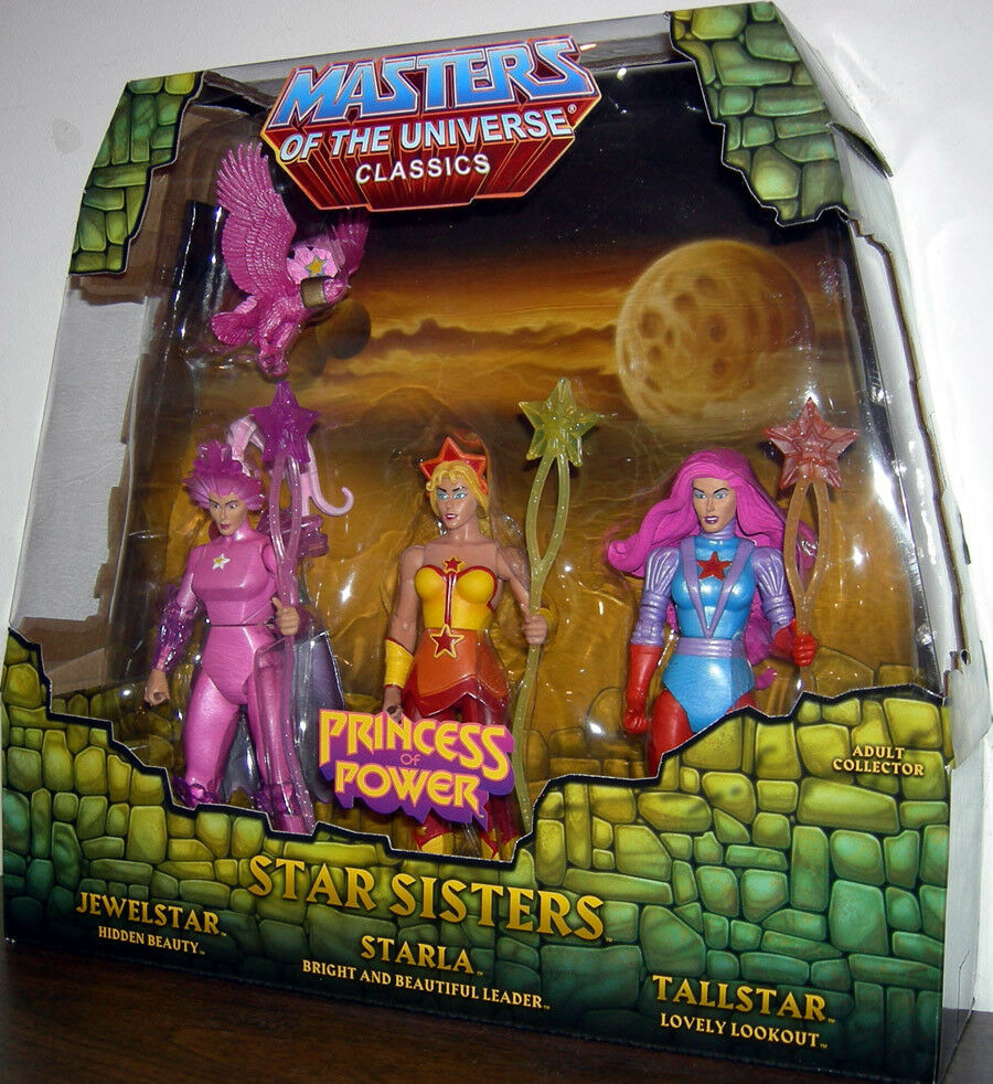 MASTERS OF THE UNIVERSE Classics__STAR SISTERS figures_Exclusive Limited Edition