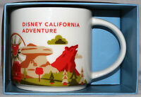 Disney's California Adventure Exclusive Starbucks You Are Here Mug/cup 2015