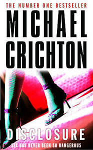 Disclosure-by-Michael-Crichton-Paperback-NEW-Book