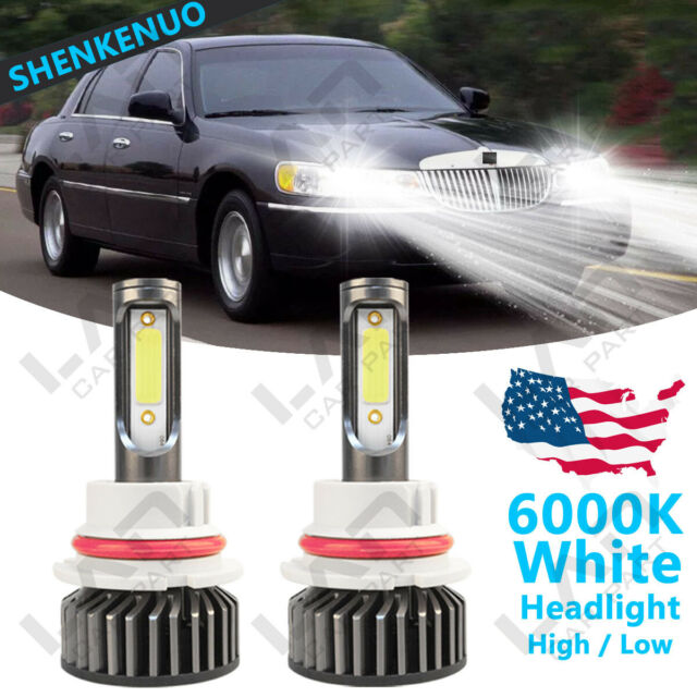 For Lincoln Town Car 1990-2002  Low Beam F2