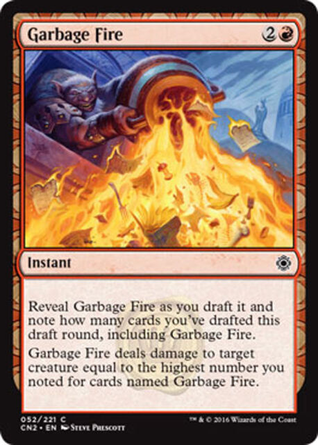 x4 MTG 4x Power of Fire