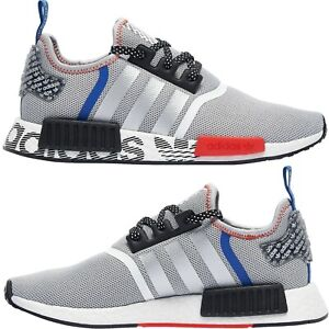 adidas-Originals-NMD-R1-Transmission-Pack-Men-039-s-Shoes-Lifestyle-Comfy-Sneakers