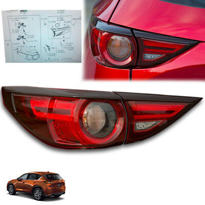 Pair LH+RH Tail Light Rear Lamp For Mazda CX5 CX-5 KE Series 1 SUV 2012~2014