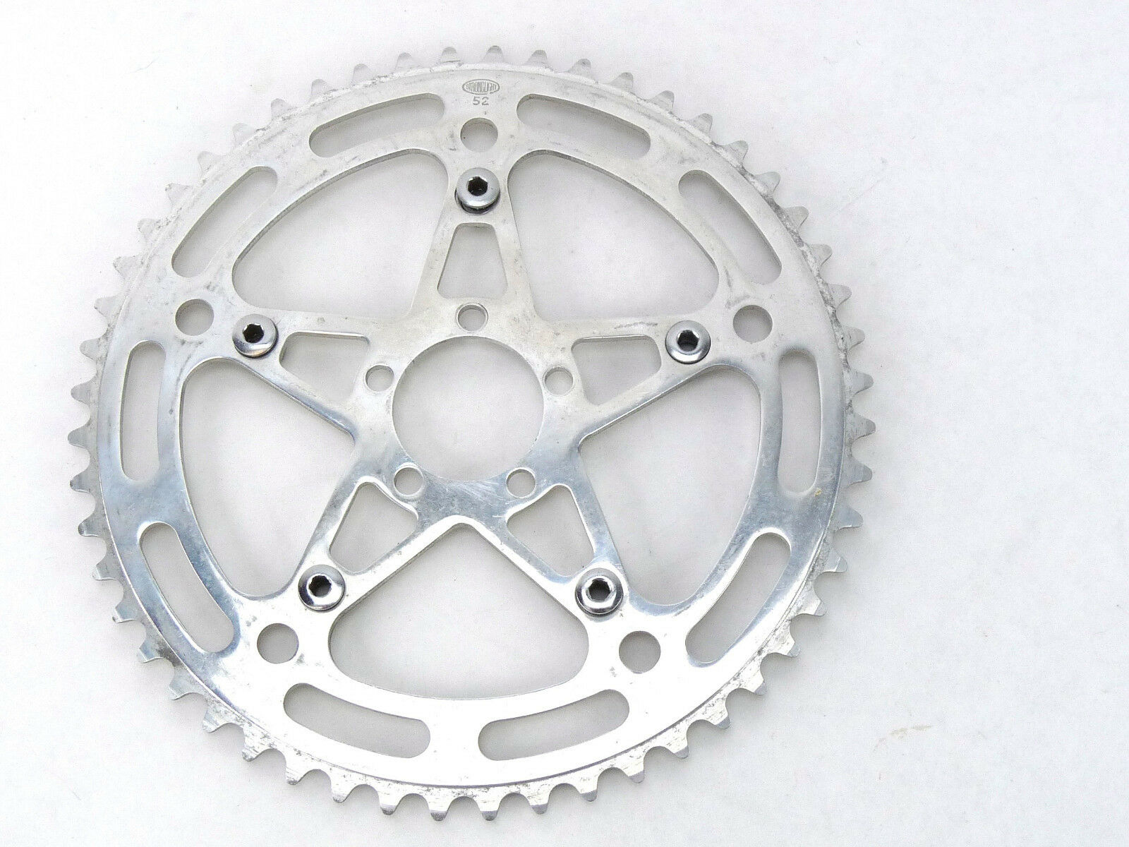 Stronglight Chainring early pattern 52t  49D 122 BCD 3 32  Vintage Road Bike NOS