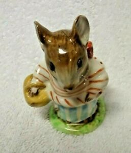 Beswick-Beatrix-Potter-039-s-Mrs-Tittlemouse-Figurine