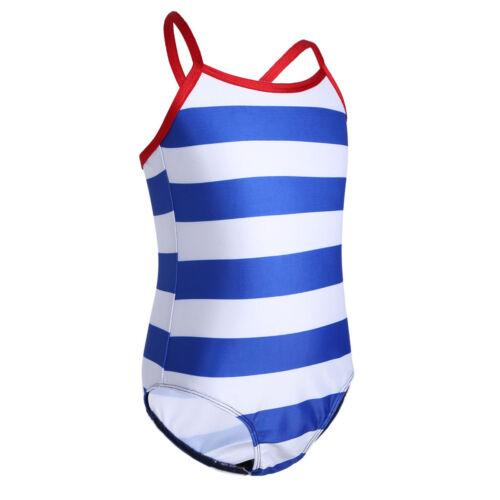 Kids Girls Swimsuit Swimwear Surf Diving Bathing Swimming Beachwear Costume