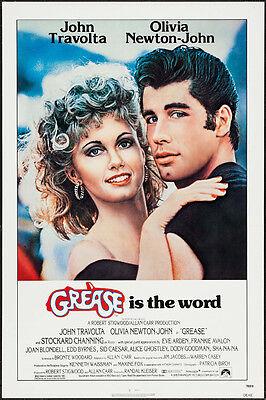 "Grease Paramount 1978 Movie Poster Replica 13x19/"" Photo Print"