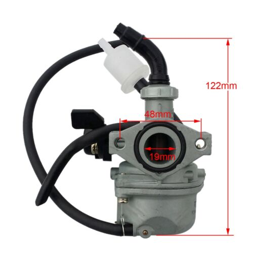 19mm Carburetor PZ19 Carb for Chinese 50 90 110 cc ATV Quad 4 Wheeler