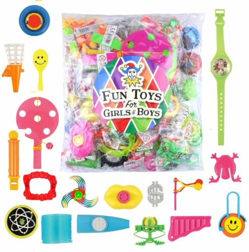100 Assorted Party Bag Filler Toys Punch Balloon Sweets Candy Haribo Kids Bundle