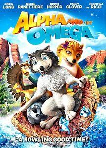 NEW-DVD-ALPHA-and-OMEGA-JUSTIN-LONG-CHRISTINE-RICCI-DANNY-GLOVER-HAYDEN