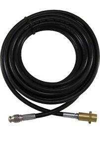 Pressure washer Karcher K2 K3 K4 compatible rotating drain cleaning hose 30M