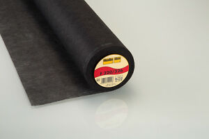 25m-ROLLOS-vlieseline-freudenberg-Insercion-De-Hierro-F220-grafit-90cm-Ancho