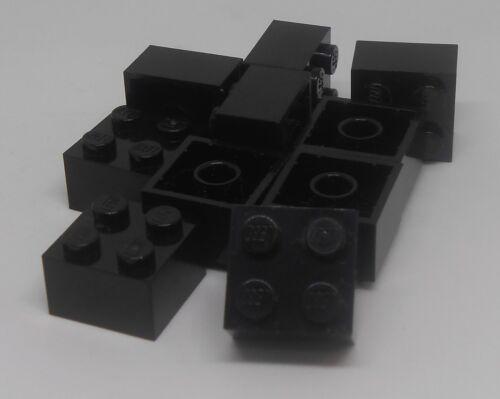 LEGO 2x2 Bricks Black---Lot of 10 300326