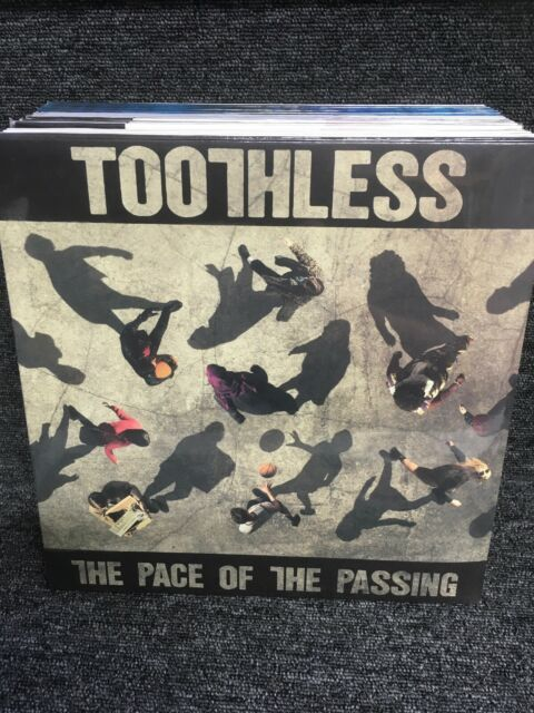 Toothless The Pace Of The Passing LP VINYL Island Records 2017 NEW Sealed.