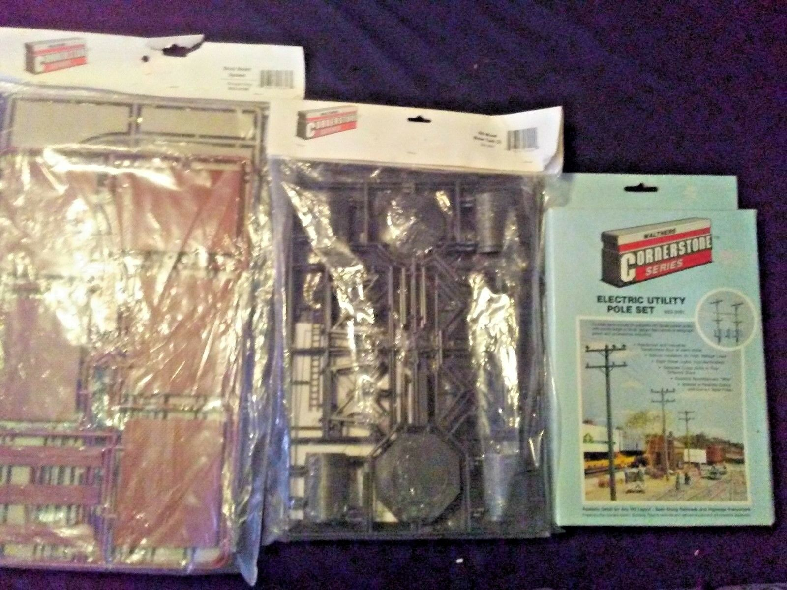 LOT of 3 Walthers Cornerstone  HO Scale  933-3156, 933-3507, 933-3101 New Sealed