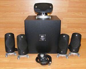 784af92c7ff Genuine Logitech (Z-5300) 5.1-Channel Complete Surround Speaker ...