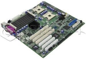 Carte Mère Intel Se7501hg2 2x S604 Ddr Scsi A95718-307 Blanc Pur Et Translucide