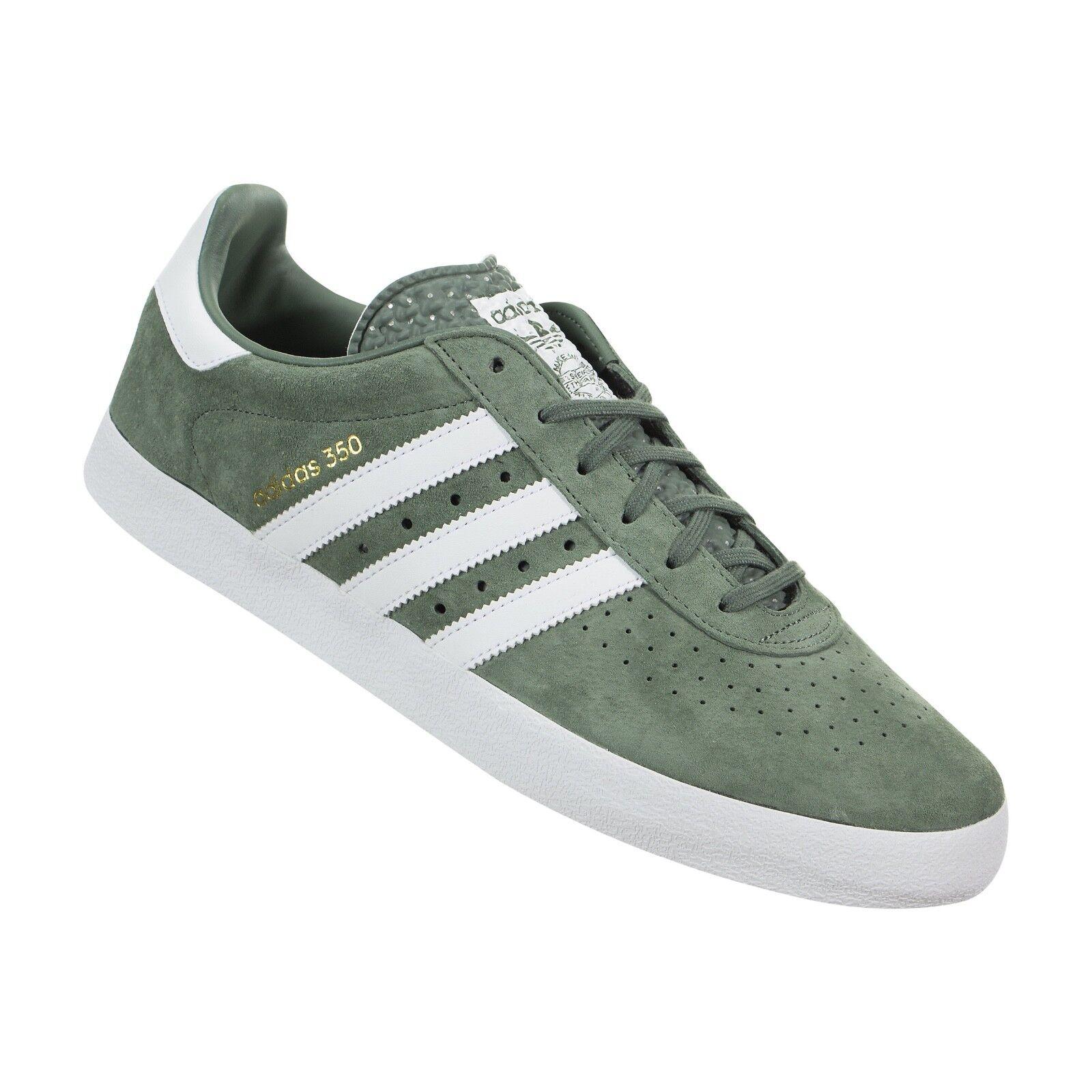Adidas Baskets Originals Hommes Originals Vert / Blanc Royaume-Uni 11