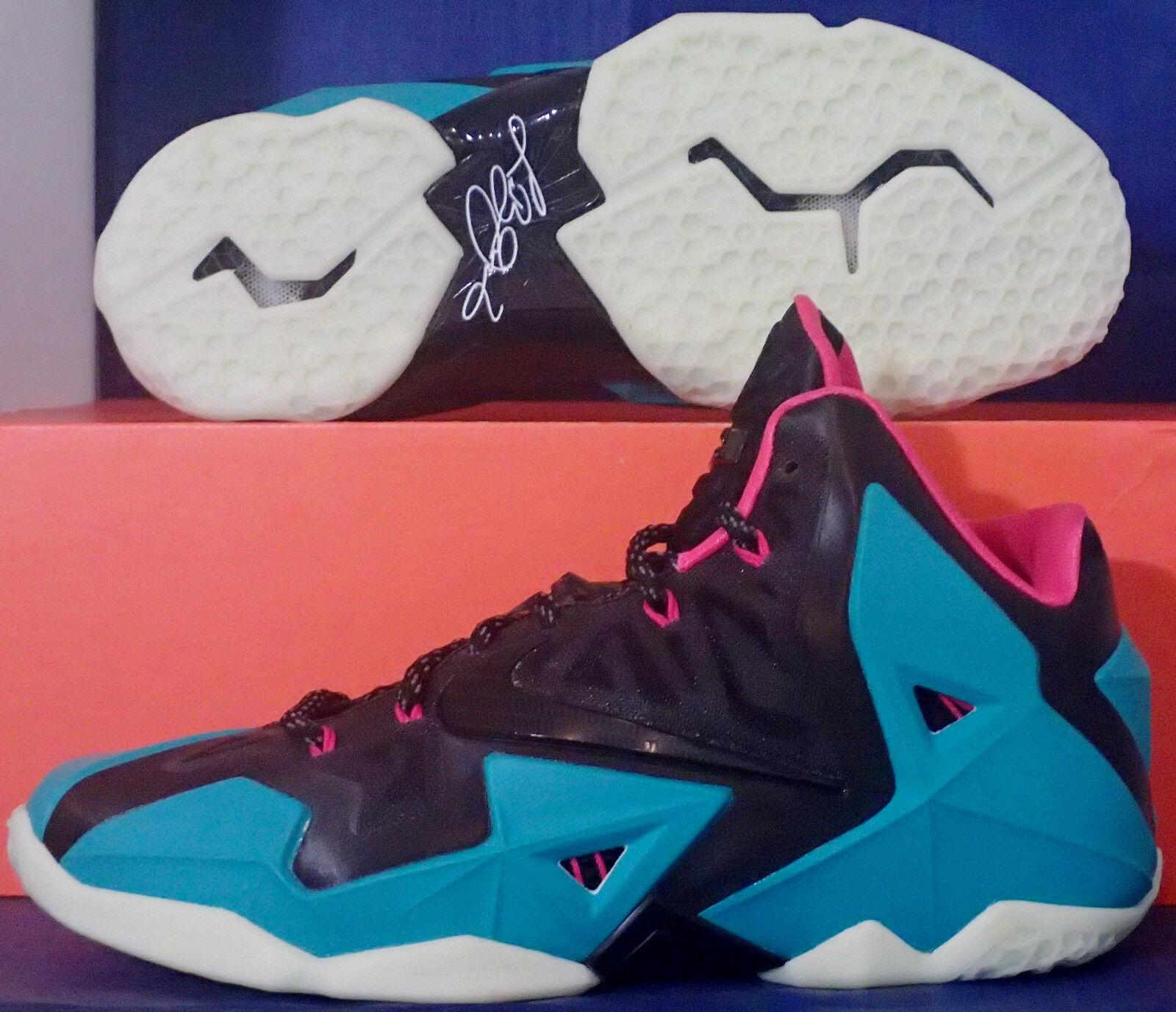 Nike lebron xi 11 id south beach sz 9 (641216-992) (641216-992) (641216-992) | Aspetto Gradevole  | Uomini/Donna Scarpa  e37081