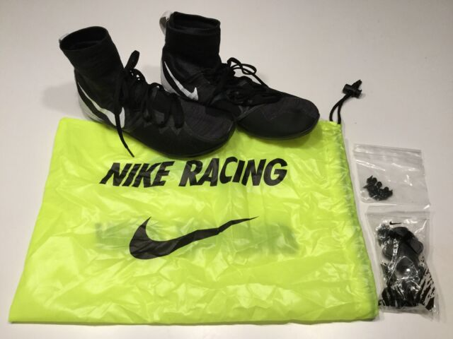 Nike Zoom Victory XC 4 Track Spikes Shoes Distance Men Size 11 Black/White
