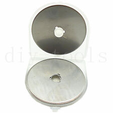 60mm Rotary Cutter Refill Blade Sewing Quilting Photos Fits Olfa Fiskars Cutters