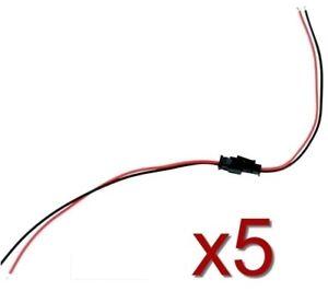 Connecteur JST male femelle avec fils JST Male+female connector with cables