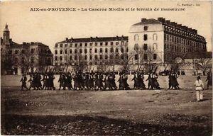 Cpa Aix-en-provence - La Caserne Miollis Et Le Terrain De Man. (213630) 7qowek2n-07224546-102844328