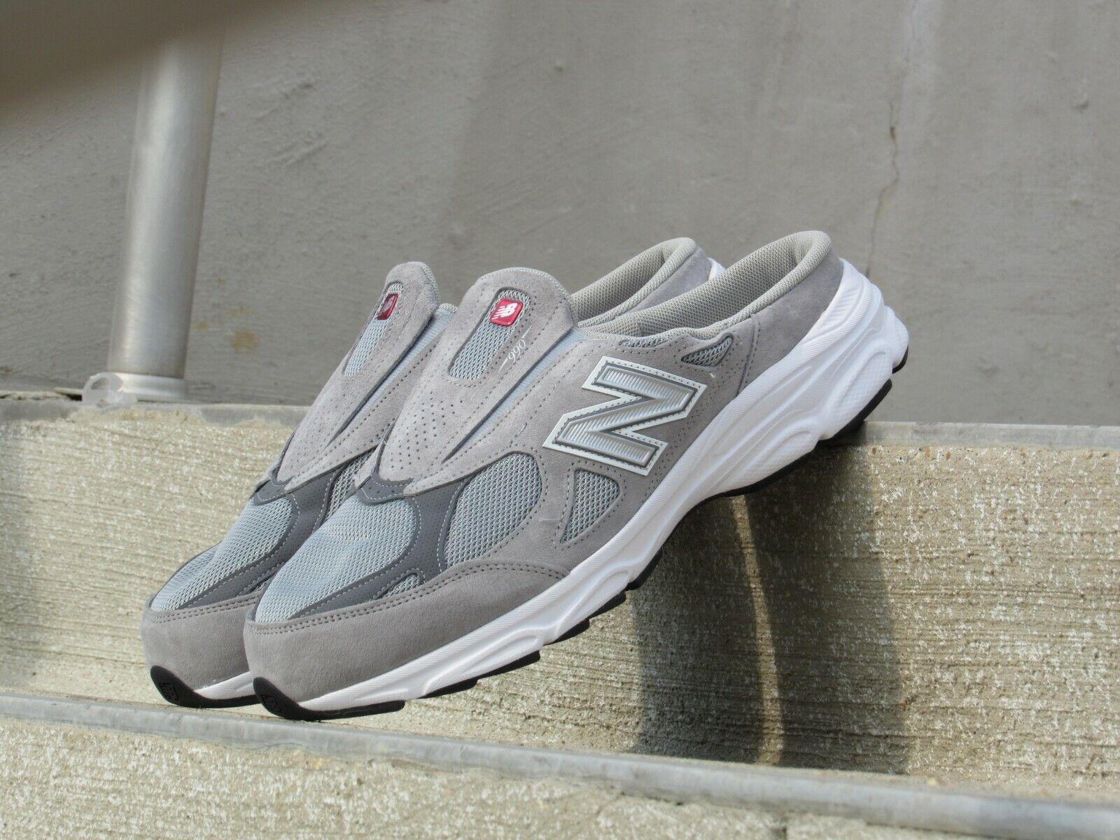 DEADSTOCK New Balance 990 Heritage  Version3 Collection Men Slip-On Slides Grey