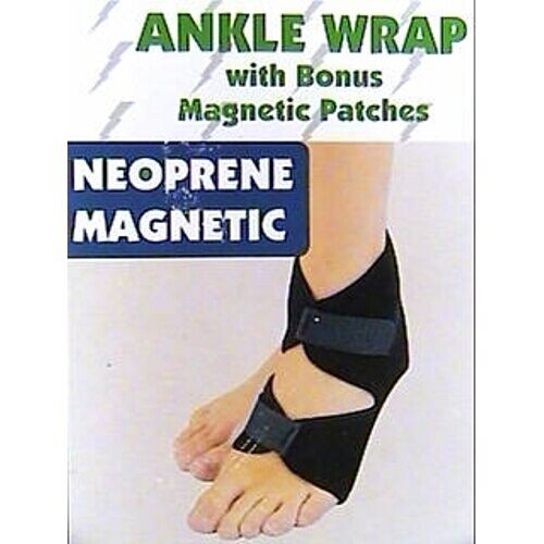 Magnetic Ankle Wrap - w/ Bonus Patches