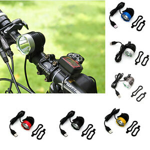 T6 LED Front Bike Light Bicycle Headlight Waterpoof 1200 Lumen Lamp Cycling USB