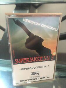RARE CASSETTE AUDIO K7 TAPE - TOP ITALIA SUPERSUCCESSI 5  - Vintage