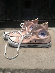 Converse Light Pink High Tops Shoes
