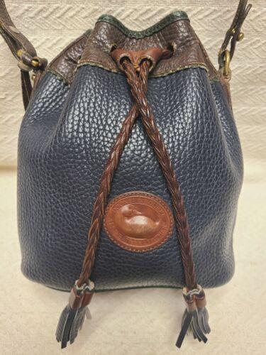 Vintage Dooney & Bourke Small Teton Bucket Bag
