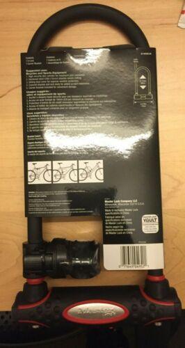 Master U Steel Bike Lock Brand New 8195D