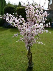 5 artificial tree light pink artificial blossom tree 17m image is loading 5 039 artificial tree light pink artificial blossom mightylinksfo