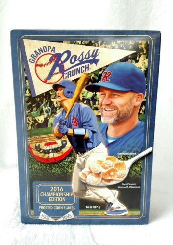 Grandpa Rossy David Ross Chicago Cubs 2016 Championship Edition Cereal Collector