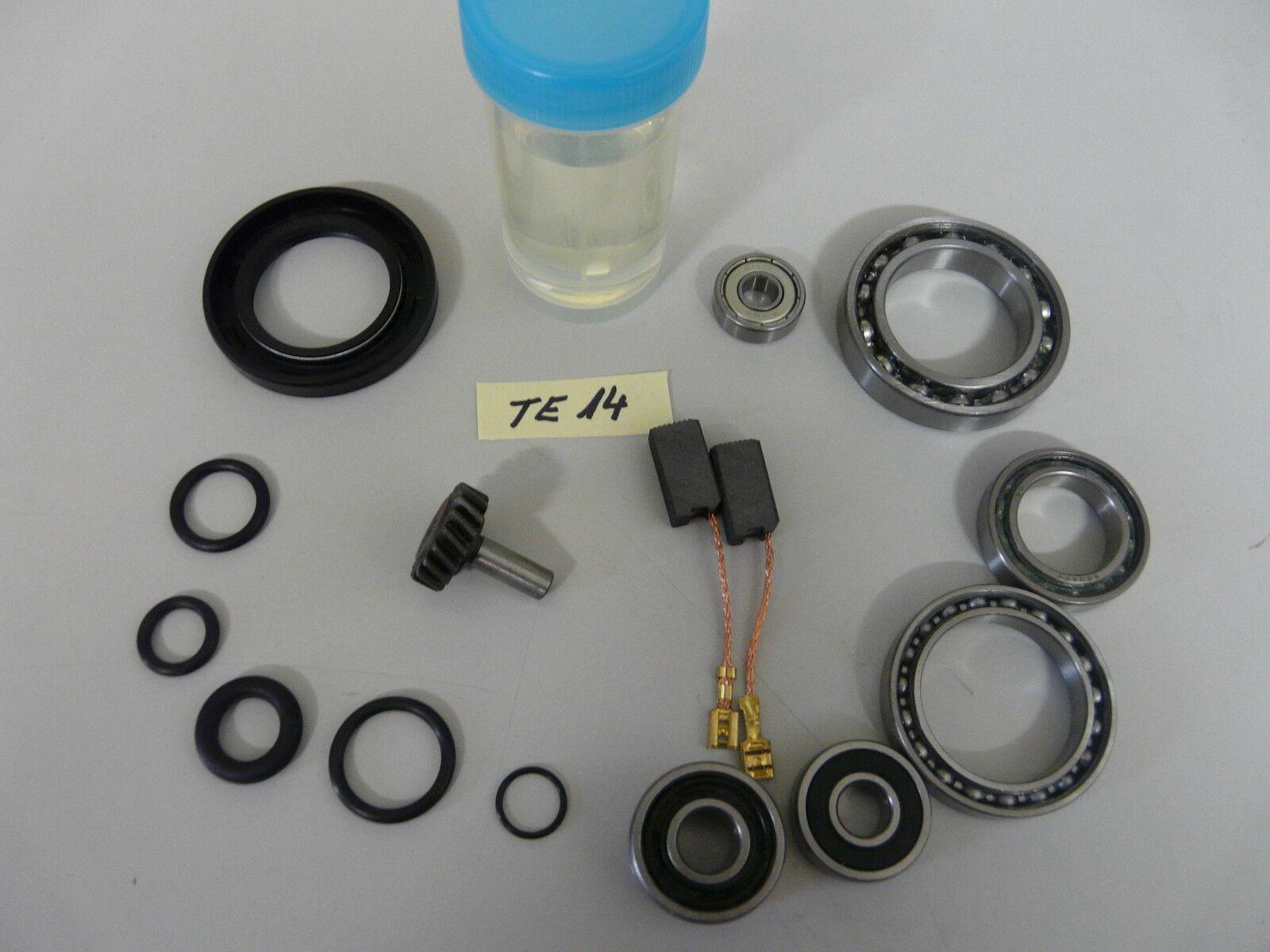 Hilti TE 14, Reparatursatz mit Zahnrad , Verschleissteilesatz, Wartungset
