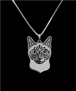 Siamese-Cat-Silver-Charm-Pendant-Necklace-Gifts-for-Her-Friend-Gifts-Cat-Lover