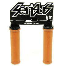ODI Sensus Lite V2.1 Lock On Grips W// Clamps Bonus Pack Gum White//Black 130Mm