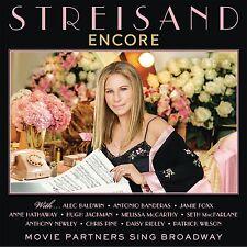 BARBRA STREISAND ENCORE: MOVIE PARTNERS SING BROADWAY CD NEW RELEASE AUGUST 2016
