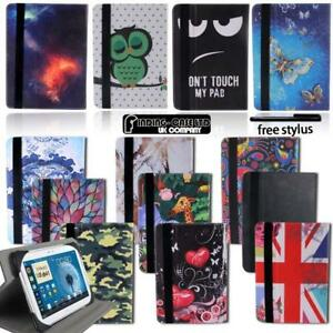 Leather-Rotating-Stand-Cover-Case-For-Samsung-Galaxy-Tab-1-2-3-4-Note-Tablet