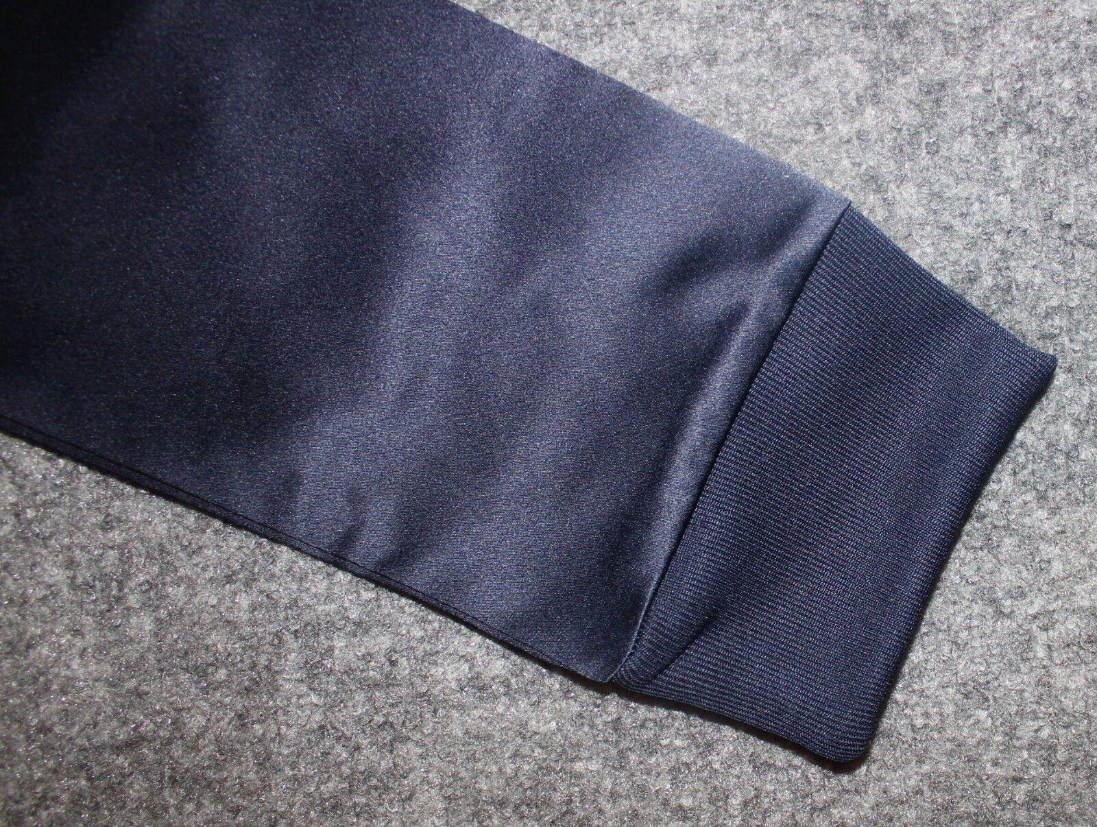 NEW ADIDAS ORIGINALS WOMEN'S SATIN TREFOIL SWEATSHIRT SIZE XL      BP9387 blueE c9243e