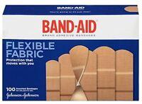 Band-aid Flexible Fabric Adhesive Bandages Assorted 100 Ea on sale