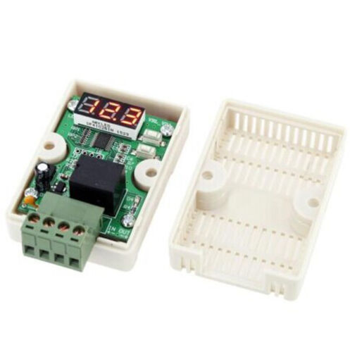 12V 20A Voltage Relay Controller Car Battery Voltage Controller Delay ASS