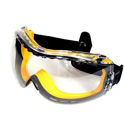 SAFETY GLASSES DEWALT CONCEALER CLEAR SAFETY GOGGLE EYE PROTECTION STDPG82