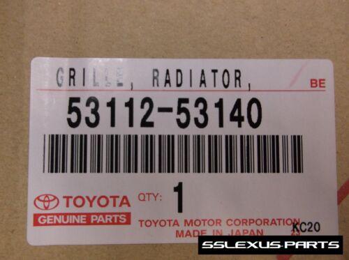 Lexus IS250 IS350 OEM F-Sport FRONT UPPER RADIATOR GRILL 53112-53140 2009-2010