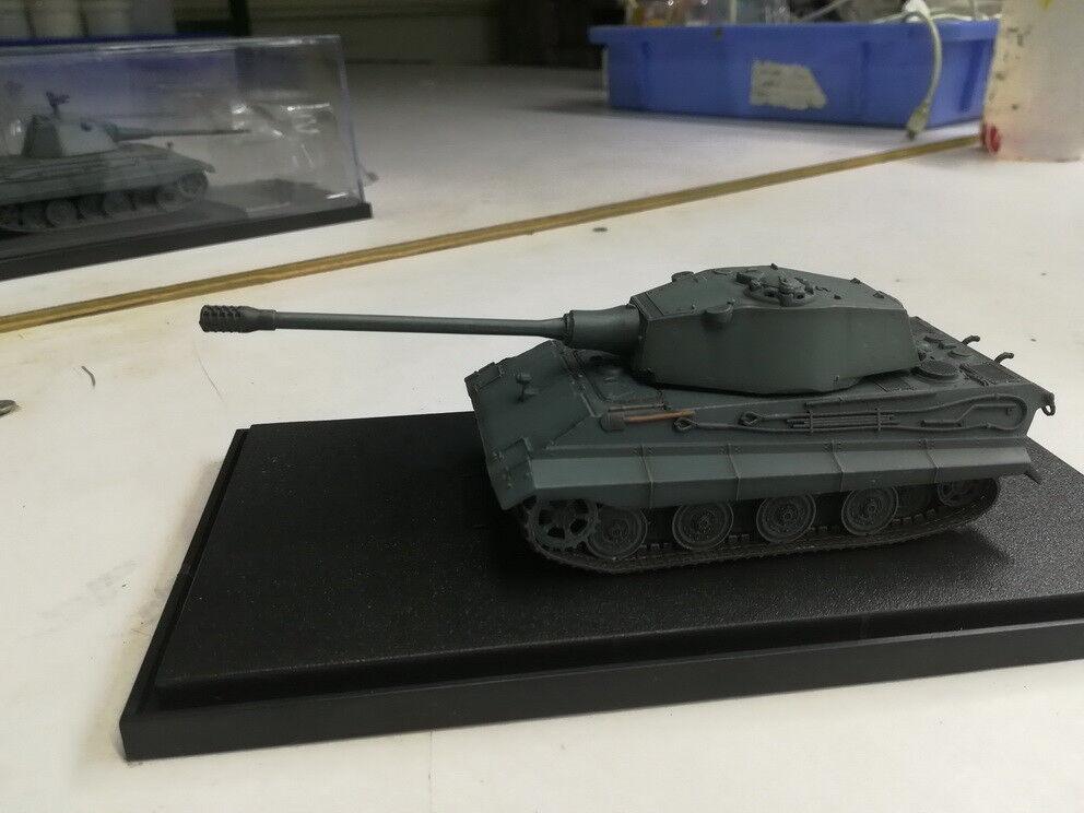 Modelcollect 1 72 German E-75 Heavy Tank w 128mm Gun 1946 German Grey Colour